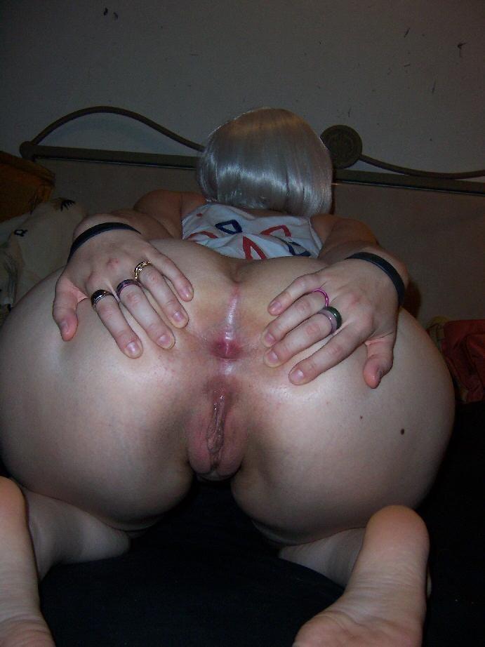 раздвинутыми булками с порно большие задницы раком