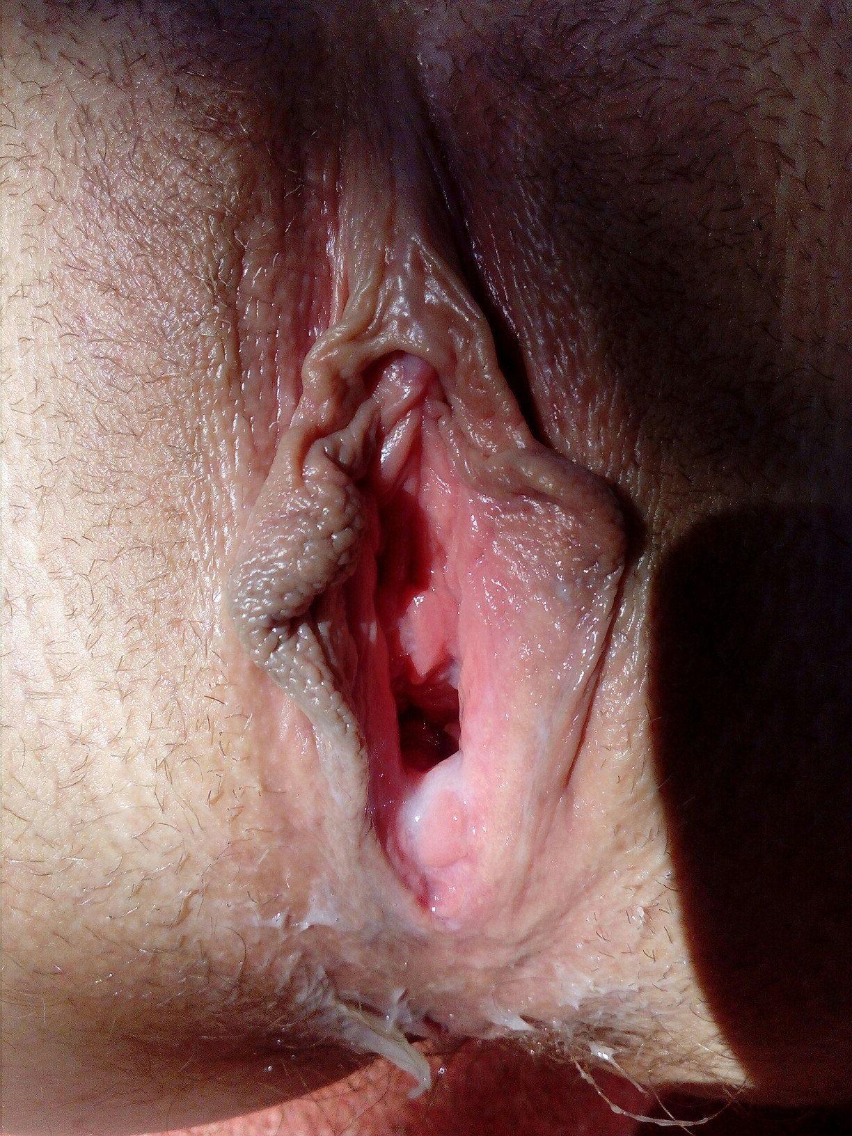 вагина после коитуса крупный план фото